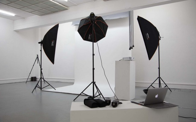 Fotostudio Softboxen