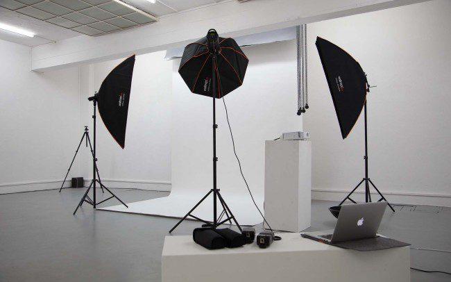 Fotostudio Softboxen