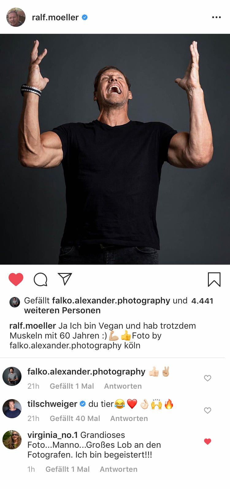 Ralf Moelle - Pose